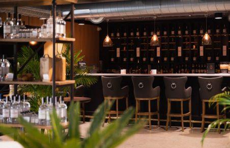 Masons bar area