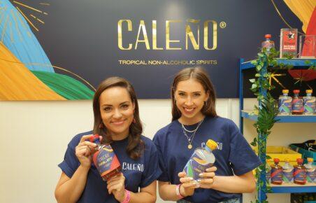 Caleño alcohol-free spirit at Low2NoBev