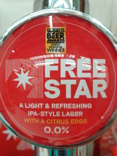 Freestar alcohol-free beer at Low2NoBev