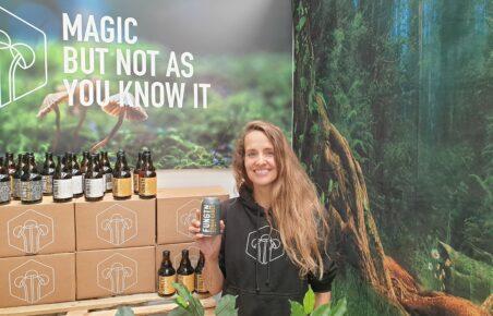 Fungtn adaptogenic alcohol-free beer at Low2NoBev