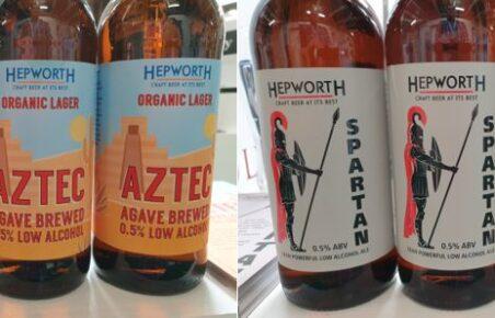 Hepworth low alcohol beer at Low2No