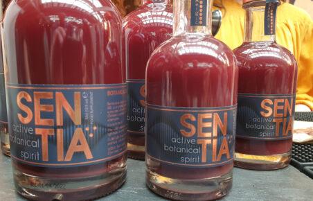 Sentia alcohol-free spirit at Low2NoBev