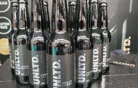 UNLTD. alcohol-free lager at Low2NoBev