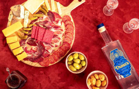 Pairing food with Dima's Vodka